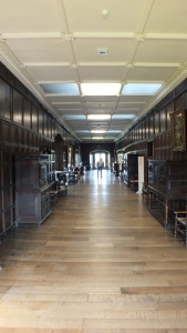 My favourite spot: The Long Gallery. Can you see me way back there?